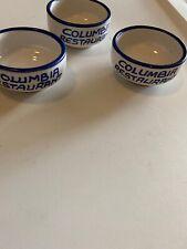 Columbia Restaurant Tampa Florida 3 Butter Bowls Ybor City 8-251C