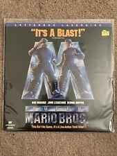 Super Mario Bros. Laserdisc LD Letterbox Edition Dolby Surround