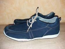 FASHION SPORT SNEAKERS mezza scarpa NUOVO taglia 41 BLU JEANS TESSUTO semplicemente & comodamente