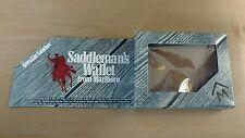 Marlboro Cigarettes Saddlemans Leather Wallet