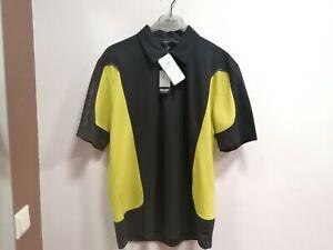 SALE 50% OFFNew Men's Golf Galvin Green JIVE Shirt Black/Lime L