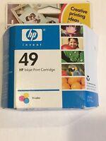 Hp Inkjet Printer Cartridge 49 Tri-Color Exp March 2006