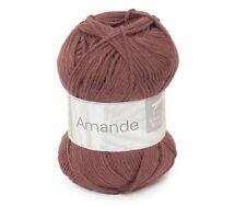 50g AMANDE CHEVAL BLANC Baumwolle Kaschmir Cotton Cashmere Babywolle Wolle 073