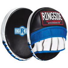 Ringside Gel Shock Micro Boxing Punch Mitts - Black/Blue/White