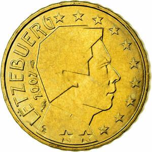 [#699335] Luxembourg, 10 Euro Cent, 2007, SPL, Laiton, KM:89