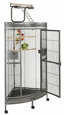 Liberta Discovery Corner Cage for medium parrots, Free Java Toy Branch!!