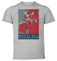 T-Shirt Gray - Maglia Grigia - Propaganda Smash Bros - Rosalina