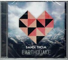 SANDI THOM - Earthquake - Rare 2015 UK Mita Records 1-track CD - NEW & SEALED CD