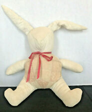 Bunny Doll Quilted Vintage Adorable