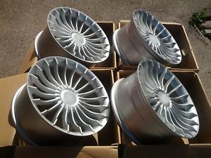 19 inch Alloy wheels fit BMW E38 E60 E61 E63 E65 5x120 New 4 rims