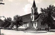 B3/ Lemars Iowa Ia Real Photo RPPC Postcard St Johns Lutheran Church