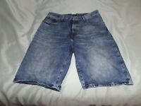 LEVI'S 569 MEN'S BLUE JEAN SHORT SIZE 33