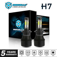 H7 LED Headlight 4-Side Bulb Kit for Mercedes-Benz B200 C230 C240 C250 C280 C300