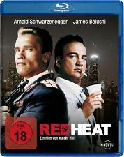 RED HEAT (Arnold Schwarzenegger, James Belushi) Blu-ray Disc NEU+OVP