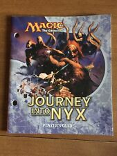 Players Guide Book ~ JOURNEY INTO NYX~ MTG