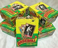 1987 TOPPS Baseball Wax Box 36 packs FRESH FROM SEALED CASE! Multiple Available!