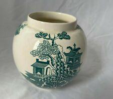 Mason's Patient Ironstone China Green Oriental Vase 11cm