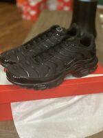 Size 10.5 - Nike Air Max Plus Triple Black