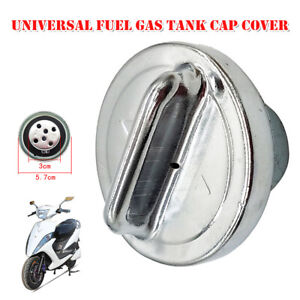 Universal Modified Motorcycle Fuel Gas Tank Cap Cover Ignition Tank Accessories