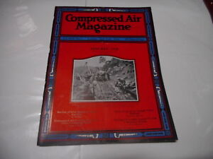 JAN 1925 - COMPRESSED AIR industrial magazine - great ads