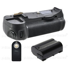 Battery Grip for Nikon D7000 + EN-EL15 Li-Ion Battery + Universal Remote
