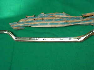 NOS 63 1963 CHEVY  IMPALA UPPER TRUNK MOULDING GM 4875469 MOLDING BEL AIR SS