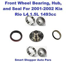 Front Wheel Bearing, Hub, and Seal for 2001-2002 Kia Rio-single (left or right)