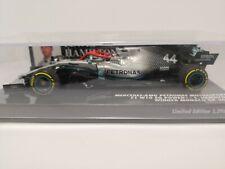 Minichamps Mercedes AMG W10 Hamilton World Champion 2019 Monaco GP Lauda 1/43