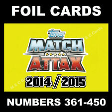 Match Attax 2014/15 14/15 MAN OF THE MATCH / DUO / RECORD BREAKER Cards 2015