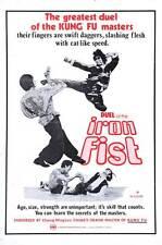 DUEL OF THE IRON FIST Movie POSTER 27x40 Kuan Tai Chen David Chiang Yuan Chuen