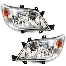 *NEW* HEAD LIGHT LAMP for MERCEDES BENZ SPRINTER 3/2003-9/2006 CRYSTAL PAIR L+R