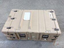 """Rackmount 04U Hardigg Server Electronics Rack Shock Mount 19"""" Case Pelican"""