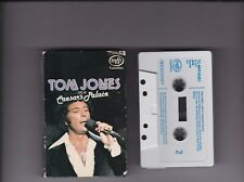TOM JONES live at Caesar's Palace~14 tracks CASSETTE ALBUM~1971~TCMFP50351