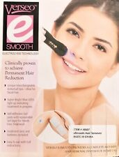 NEW eSmooth Hair Remover - Clinically Proven Permanent Hair Removal