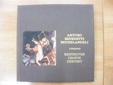 BENEDETTI MICHELANGELI BEETHOVEN CHOPIN DEBUSSY 5 LP MBL 1005/1009 1985