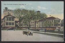 Postcard Iowa City Ia State University Hospital Campus 1910's