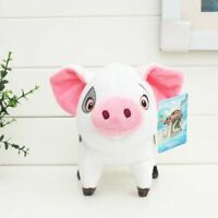 "Moana Wailea Pet Pig PUA Animals Soft Stuffed Plush Figure Doll Toy 8"" Kid Gift"