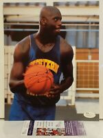 Shaquille O'Neal Signed Los Angeles Lakers 8x10 Photo Insc JSA COA