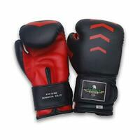 Exxact Sports Youth Knock Out Boxing Gloves Muay Thai Punch Bag Mitts Sparring