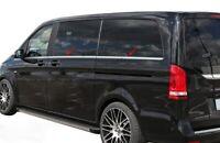 Mercedes Vito W447 2014Up  L1-L2 Chrome Windows Frame Trim Cover 8 Pcs S.Steel