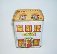 1984 Lillian Vernon Village Tea Shop Tin House
