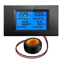 100A LCD Digital Volt Voltage Watt Current Power Meter Ammeter Voltmeter CRIT