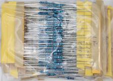 New 50value 1/4W 0.25W 1% Metal film resistor 500pcs Assortment Kit (1-10M ohm)