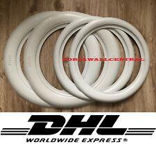 "15""X3""15""X2"" Portawall White wall insert VW Beetle Car Truck Hot Rod SET4"