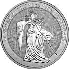 2019 Germania 5 Mark GERMANIA 1 Oz Silver Coin.