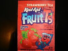 1 *RARE* Kool Aid Drink Mix STRAWBERRY TEA, not in stores