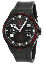 Porsche Design Men's 6340.43.43.1169 Flat Six Automatic Black Dial Watch