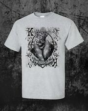 Foil Black King Card PokerT-Shirt by High Roller Clothing