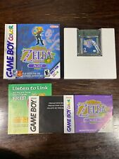 Legend of Zelda Oracle of Ages Game Boy Color GBC CIB 100% COMPLETE