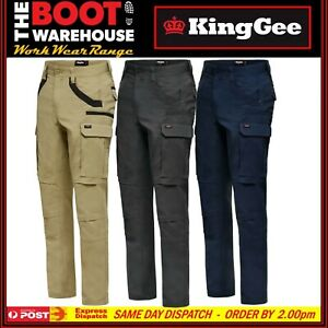 "King Gee ""K69860"" Cargo Pants Work Tradies Utility Strech Straight fit kinggee"